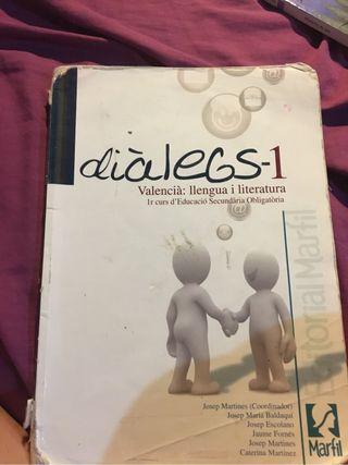 Libro de valenciano dialegs 1