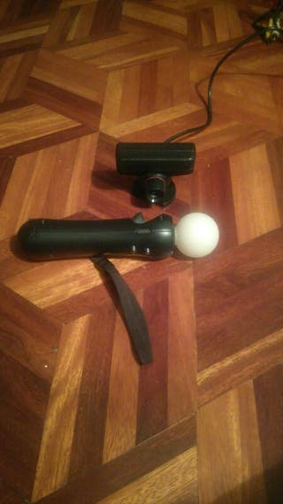 Ps3 -mando move, cámara y juegos