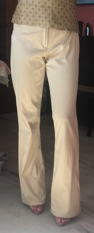 Pantalon dorado fiesta