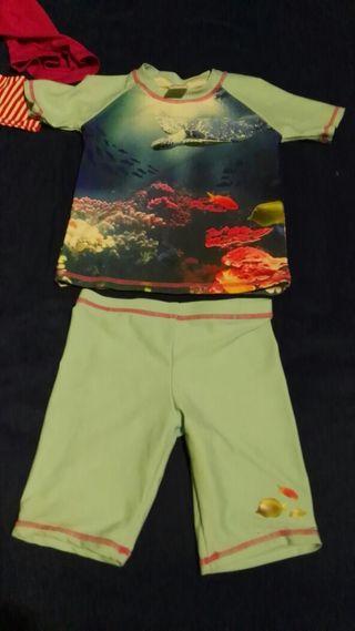 trajes playa