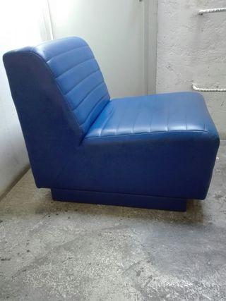 sillón de cuero