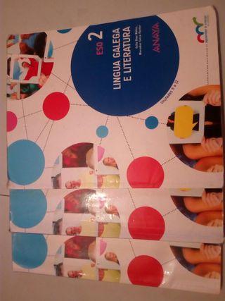 libro lingua galega 2 de Eso 3 cuadernillos