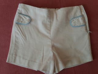 Pantalones cortos de Villalobos talla 3 años