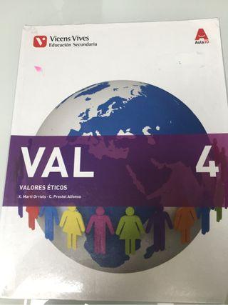 Libro valores eticos 4ESO