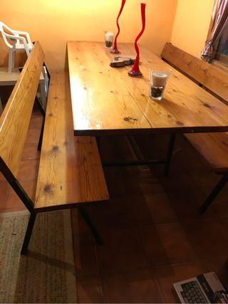Mesa para bodega