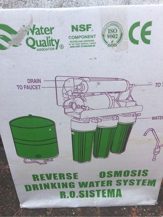 Aparato agua osmosis