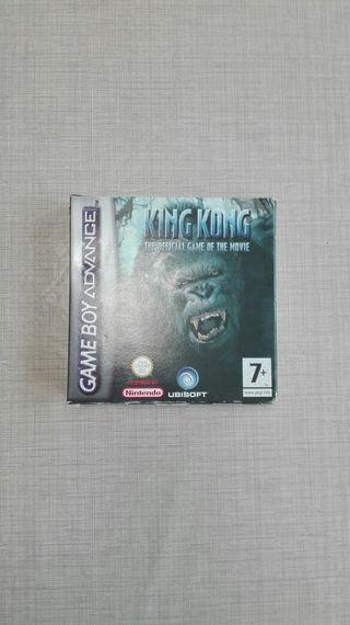 Juego King Kong para Game Boy Advance