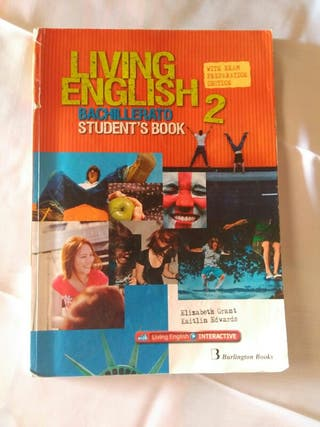 Se vende libro de INGLÉS/ 2° BACH/ LIVING ENGLISH