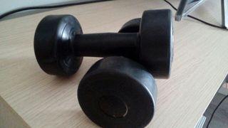 2 mancuernas de 1,5 kg #pesas