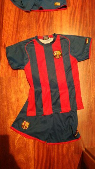 traje de futbol talla8