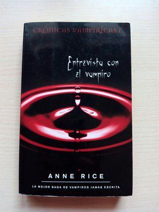 Libro: Entrevista con el vampiro