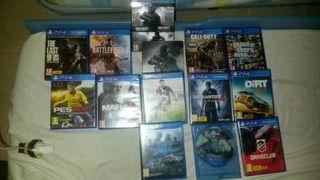JUEGOS DE PS4:Gta 5,etc...
