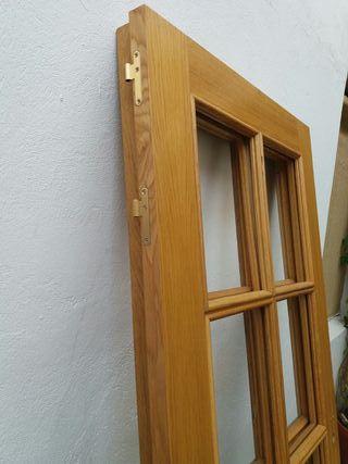 2 Puertas de madera macizas