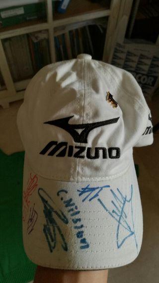gorra Mizuno golfista