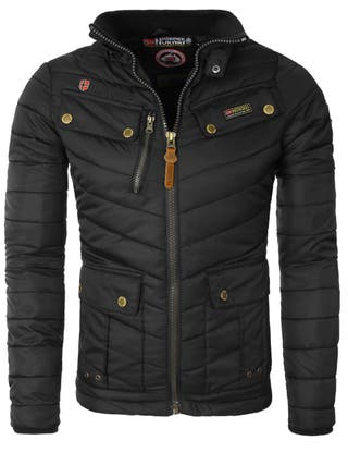 Chaqueta Hombre GEOGRAPHICAL NORWAY, Color Negro.
