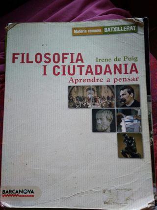 Filosofia i Ciudadania - Batxillerat