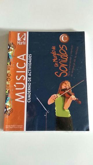 libros de texto música ESO