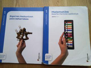 Libro texto Matematikas.Euskera