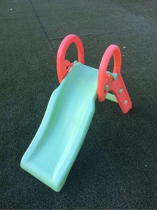 Tobogan de plastico de segunda mano por 10 en xeresa for Tobogan piscina segunda mano