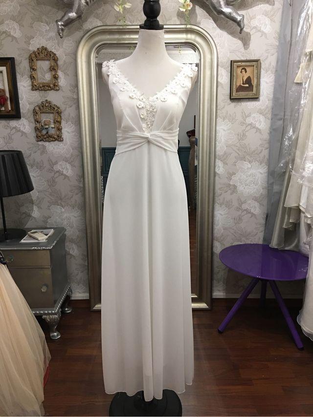 vestido novia alquiler de segunda mano por 50 € en barcelona en wallapop