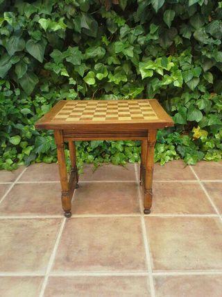 Mesa ajedrez de segunda mano por 39 en moralzarzal for Wallapop mesas
