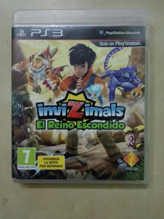 invizimals el reino escondido PS3
