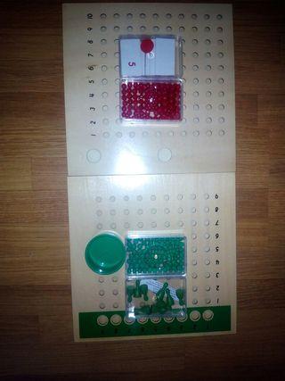 Material matemáticas montessori