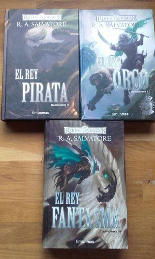 "Saga Reinos Olvidados Trilogia ""Transiciones"""