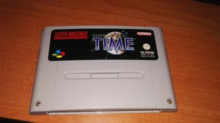 Videojuego Ilussion of Time Super Nintendo