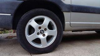4 llantas para parnert con rueda incluida