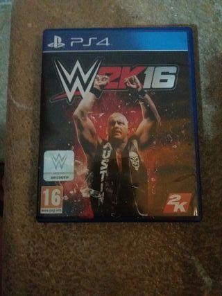WWE'16 ps4