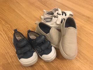 Lote 3 pares de zapatos