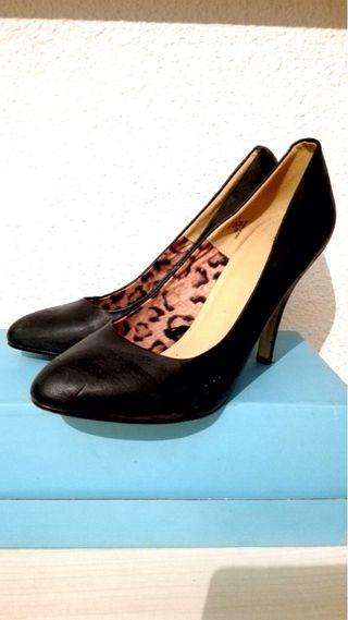 Zapatos negros H&M