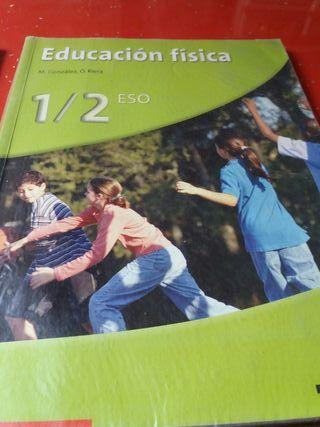 libro educacion fisica 1/2 eso