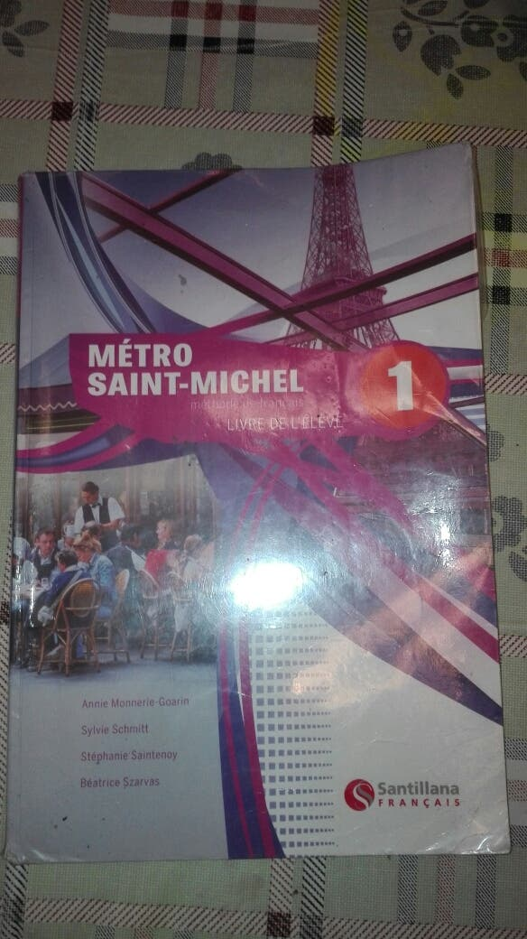 libro frances 2 bachillerato
