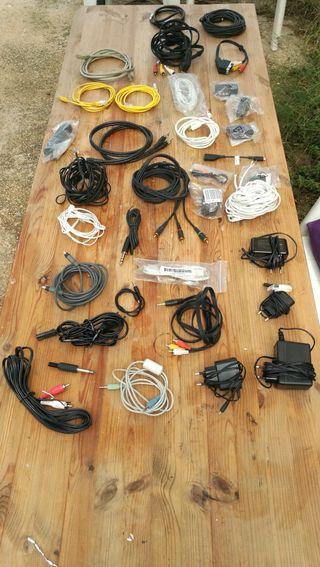 Cables audio,video,teléfono