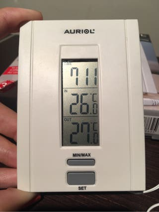 Estación meteorologica AURIOL