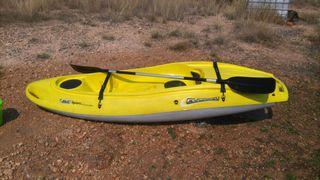 kayak de una plaza mas remo