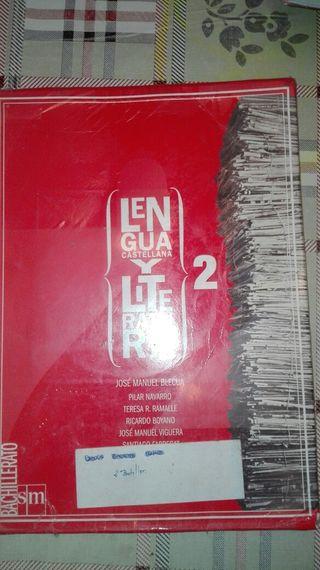 lengua castellana y literatura.2 bachillerato