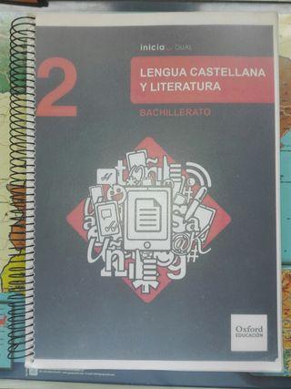 Libro Lengua castellana y Literatura 2º Bachiller