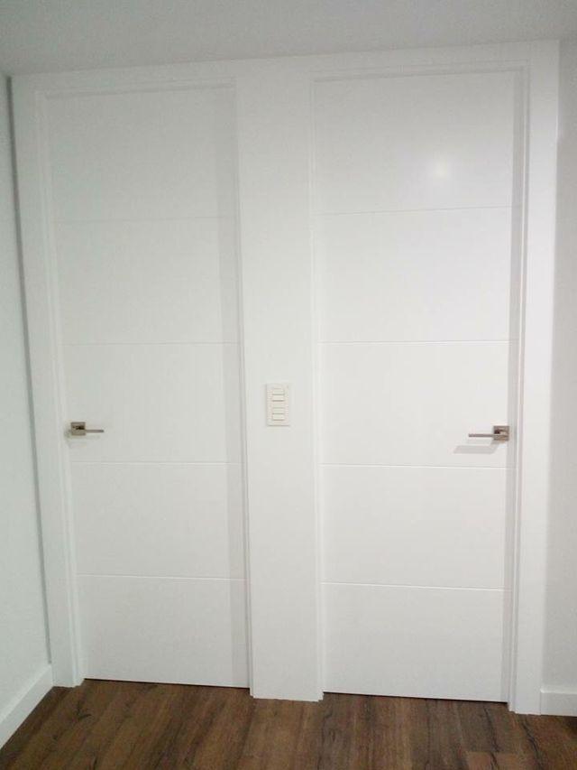 Puertas Blancas Lacadas De Segunda Mano Por 120 En Torre