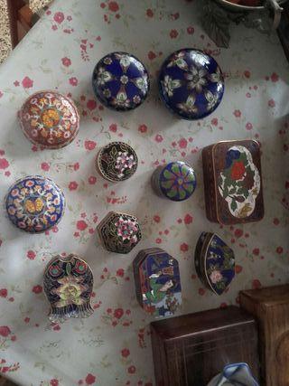 Colección pastilleros