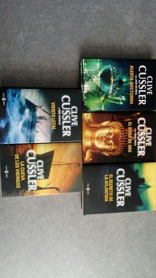Libros de Clive Cussler
