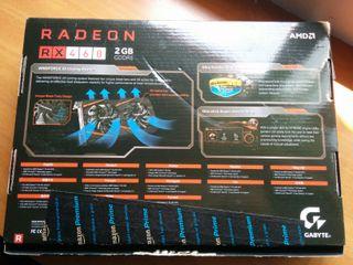 Gigabyte Radeon RX460 2GB GDDR5