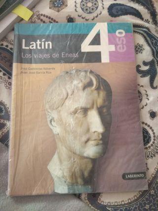 libro de latín los viajes de eneas