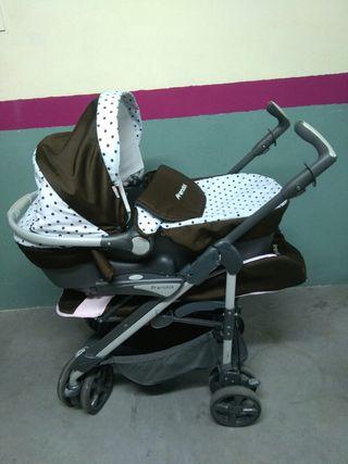 carro bebé trío prental