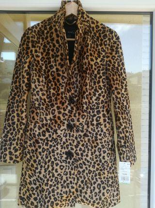 Abrigo Mango Leopardo XS