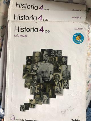 Historia, País Vasco. 4ESO