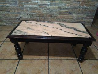 mesa baja rustica