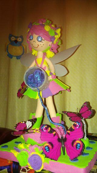 muñeca de gomaeva artesanal